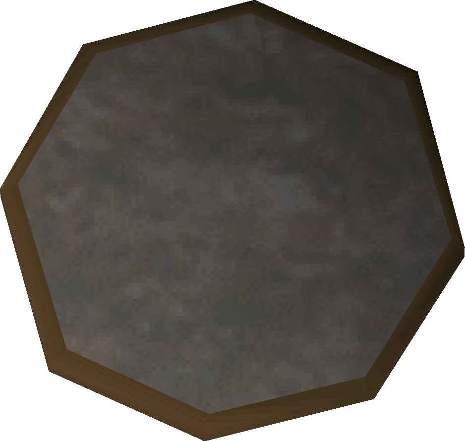 Mirror shield detail
