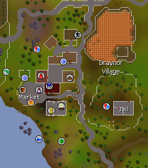 Draynor Village map
