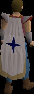 Saradomin cloak equipped