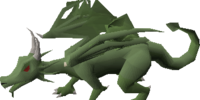 Brutal green dragon