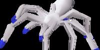 Frosty spider