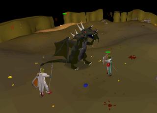 Fighting King Black Dragon