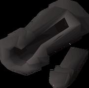 Broken cannon detail