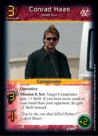 Conrad Haas Trading Card