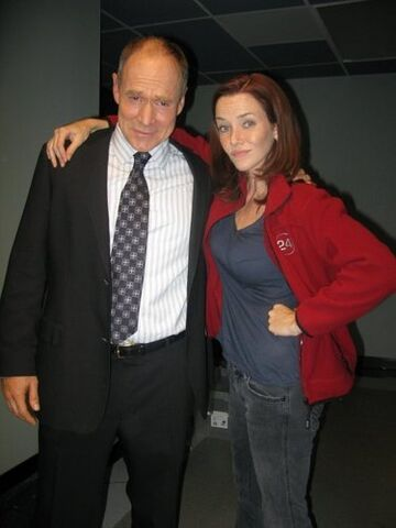 File:24- Will Patton and Annie Wersching on-set of S7.jpg