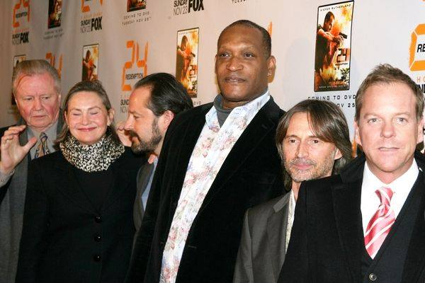 File:24 Redemption DVD promo party cast.jpg