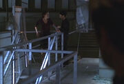 2x19 2nd level worker talking to Michelle Dessler