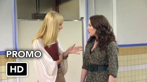 "2 Broke Girls 2x09 Promo ""And the New Boss"" (HD)"