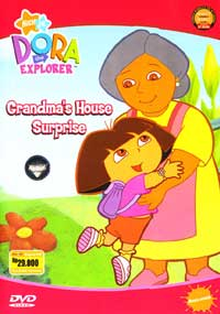 DVD Dora Grandmas House Surprise
