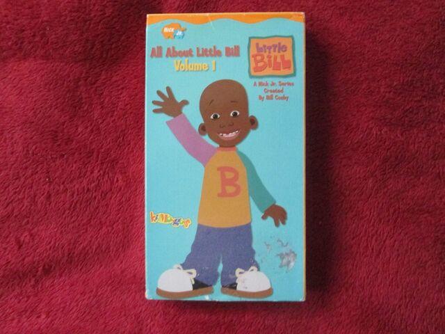 File:Little Bill All About Little Bill Volume 1 VHS.jpg