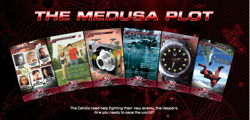Cahills vs. Vespers Mission 1: The Medusa Plot | The 39 Clues Wiki ...