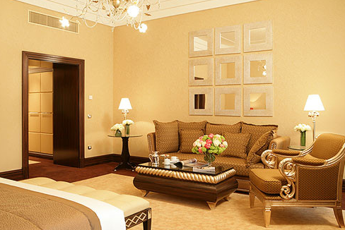 Junior Suite King Bed in New York Palace Boscolo Luxury Hotel Budapest Hungary