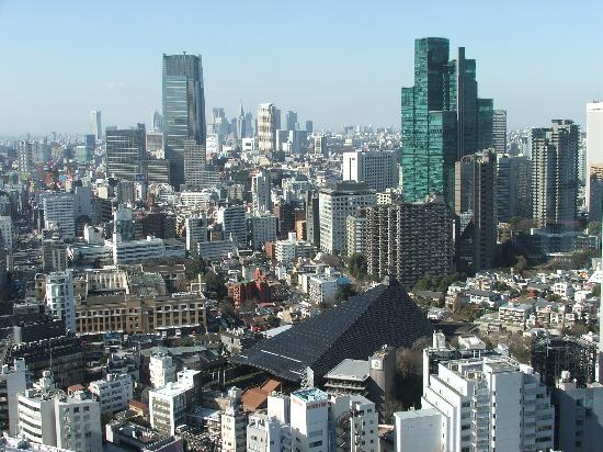 Tokyo from tower