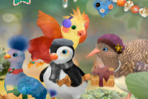 File:3rd & Bird Christmas Rudy and Recurring Cast.png