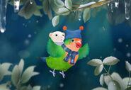 3rd & Bird A Very Squooky Christmas! Scene
