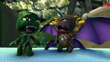 LBP Godzilla Versus Destoroyah