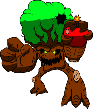 Rampage Art Comission - Timmy the Tree