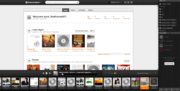 Grooveshark-interface