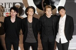 5sos at the 2014 brit awards