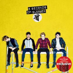 5 Seconds of Summer Target album yellow