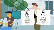 Blurry Eye Chart