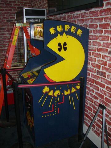 File:Super Pac Man Arcade Machine.jpg
