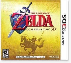The legend of zelda ocarnia of time 3d