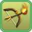 Flaming Archer Research Icon