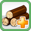 Wood Upgrade Research Icon (Silver)