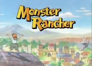 Monster Rancher Title Card