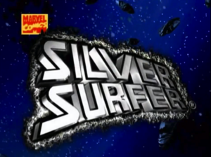 Silver Surfer Title Card