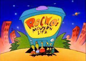 Rocko's Modern Life Title Card