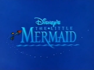 The Little Mermaid Title Card