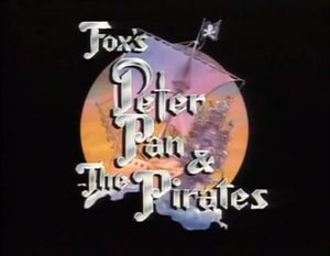 Peter Pan and the Pirates Title Card