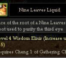Nine Leaves Liquid