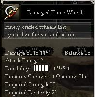 Damaged Flame Wheels