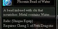 Phoenix Bead of Water