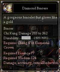 Diamond Bracers
