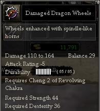 Damaged Dragon Wheels
