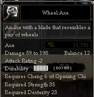 Wheel Axe