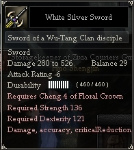 White Silver Sword