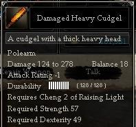 Damaged Heavy Cudgel