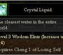 Crystal Liquid