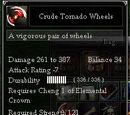 Crude Tornado Wheels
