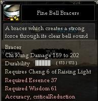 Fine Bell Bracers