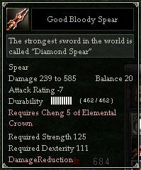 Good Bloody Spear