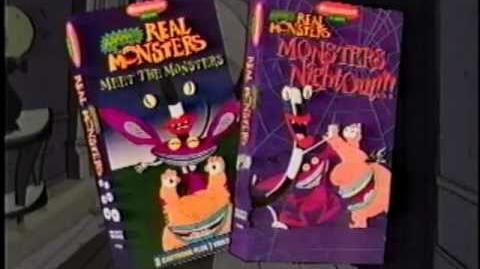 Aaahh!!! Real Monsters VHS Ad