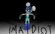 Idiot mouse
