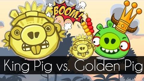 Bad Piggies - KING PIG VS. GOLDEN PIG (Field of Dreams) - Request