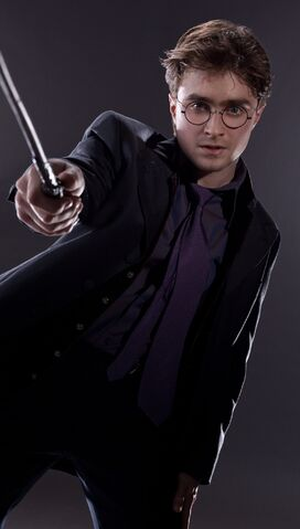 File:DH1 Harry Potter in his wedding.jpg